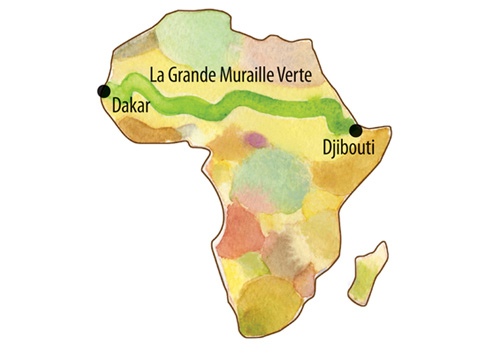 great green wall map